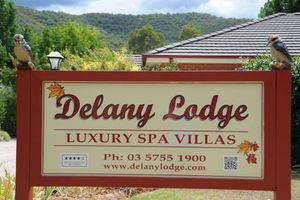 Location de vacances - Delany Lodge Luxury Spa Villas - Bright